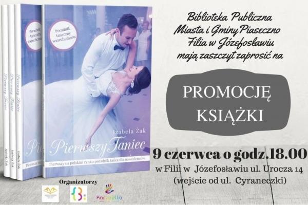 Promocja książki Izabeli Żak i spotkanie kosmetyczno-wizażowe w bibliotece w Józefosławiu