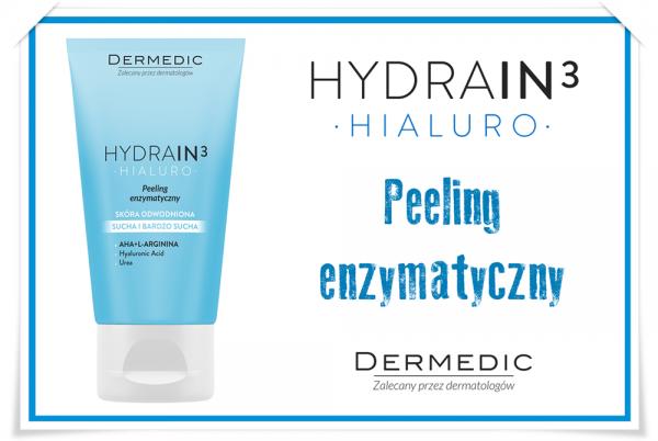 Peeling enzymatyczny HYDRAIN3 od Dermedic