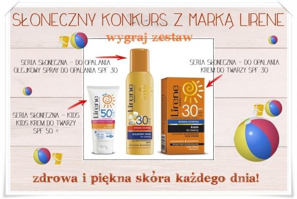 Słoneczny konkurs z marką Lirene