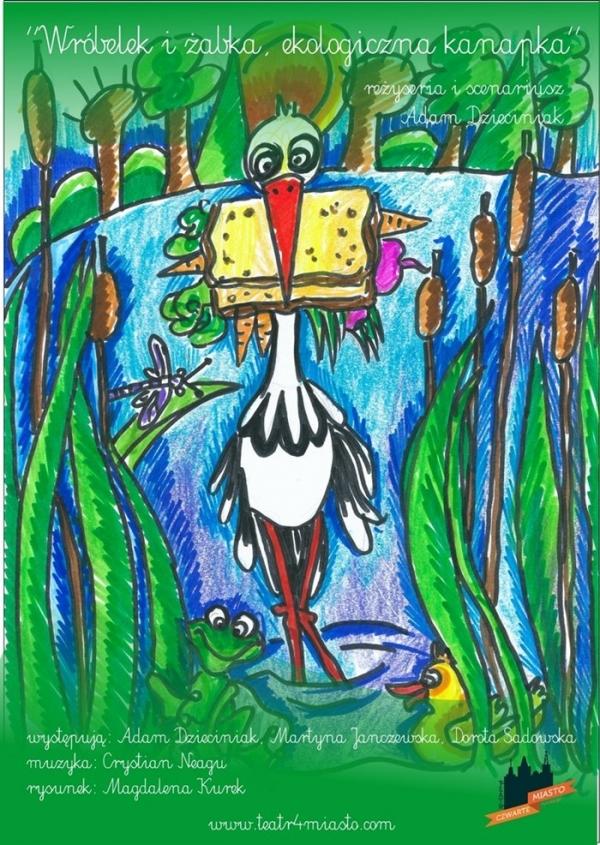 Wróbelek i żabka, ekologiczna kanapka - Kulturalny zakątek w Piasecznie