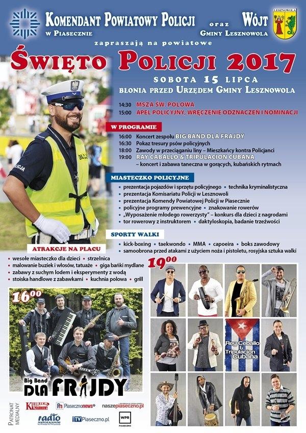 Lesznowola - Święto Policji 2017
