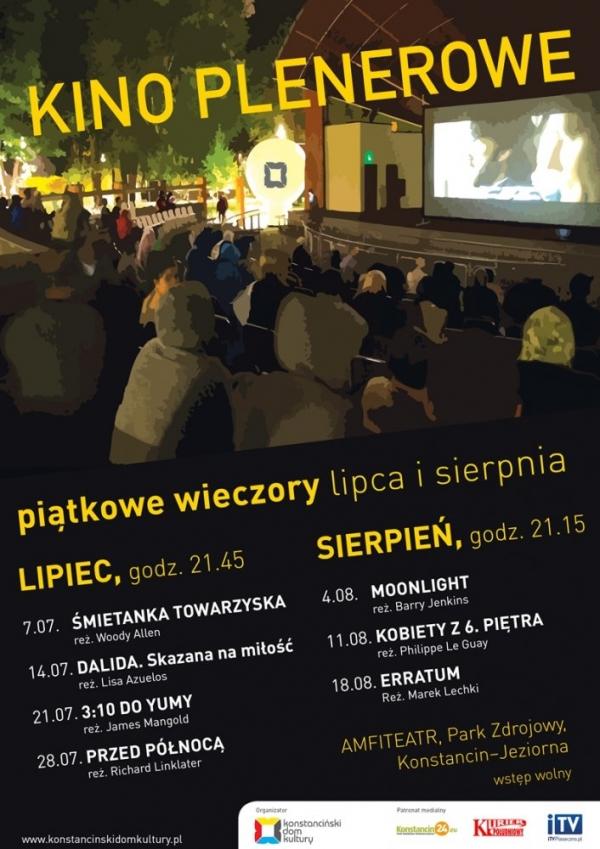 Kino plenerowe w amfiteatrze - Śmietanka towarzyska