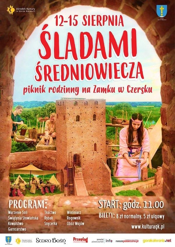 Wczesnośredniowieczna osada na zamku w Czersku