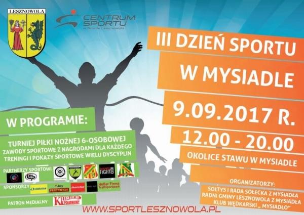 Sportowa sobota w Mysiadle