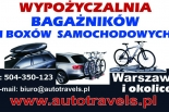 Wypożyczalnia bagażników i boxów samochodowych THULE Piaseczno i okolice