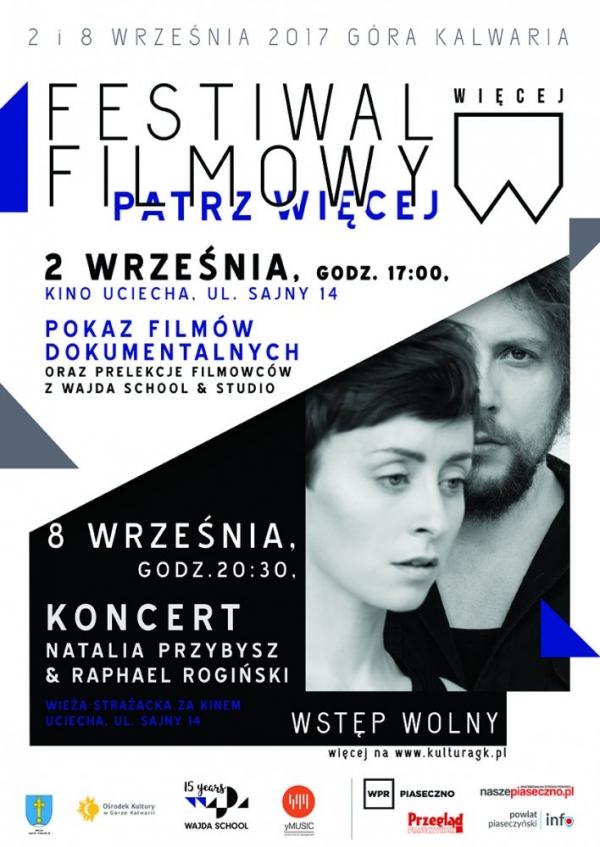 Koncert Natalii Przybysz i Raphaela Rogińskiego