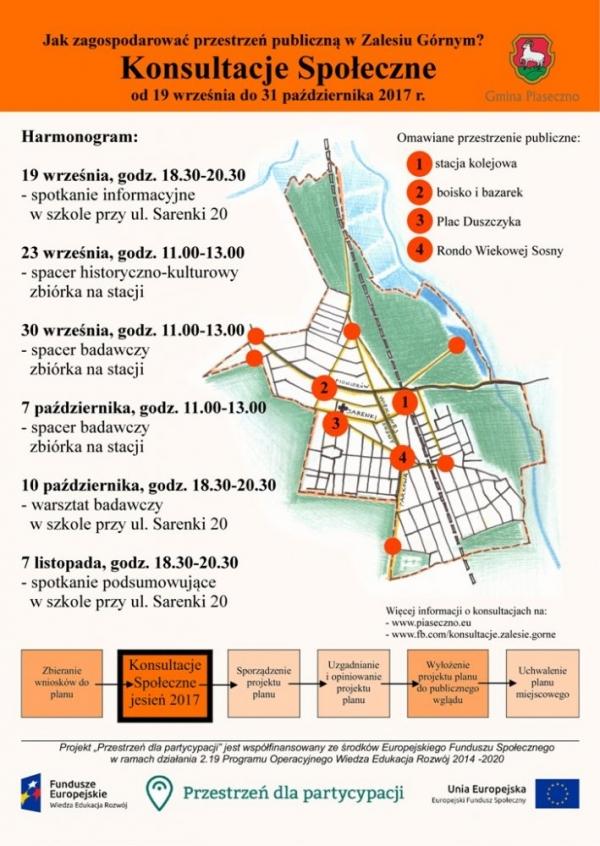 Jak zagospodarować przestrzeń publiczną w Zalesiu Górnym?