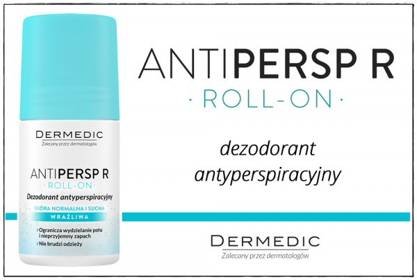 Dezodorant antyperspiracyjny z serii Antipersp R