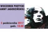 Premiera Tomiku Wierszy Anny Jagodzińskiej