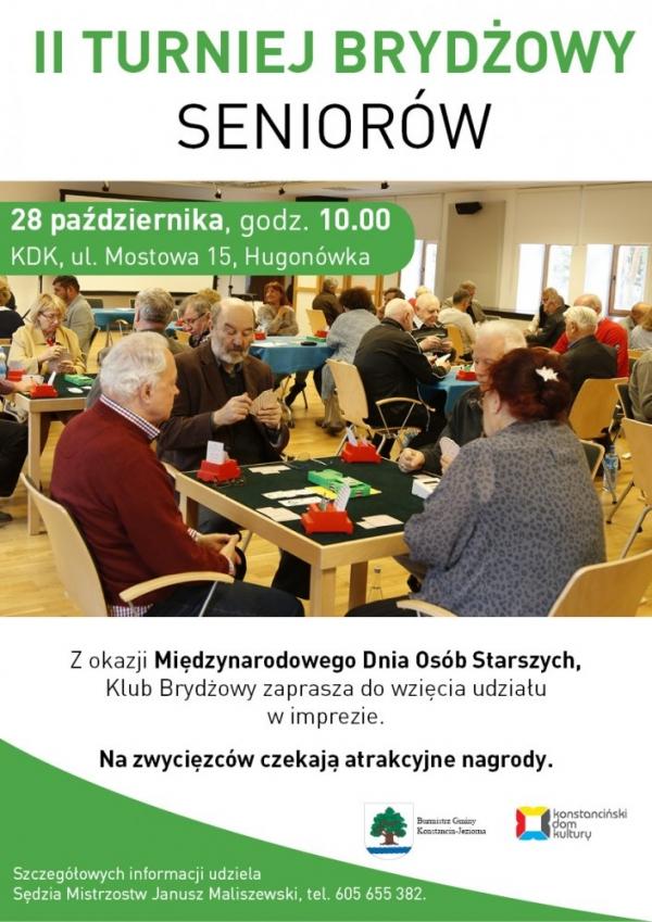 Turniej Brydżowy Seniorów