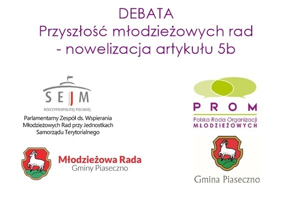 Przyszłość młodzieżowych rad - nowelizacja artykułu 5b - DEBATA