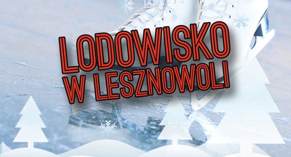 Otwarcie lodowiska w Lesznowoli