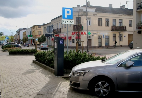 Strefa płatnego parkowania od 4 grudnia
