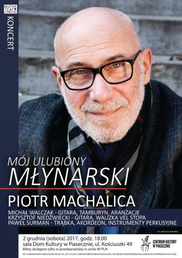 Recital Piotra Machalicy w Piasecznie