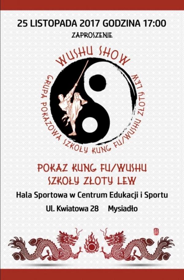 Wushu Show w Mysiadle