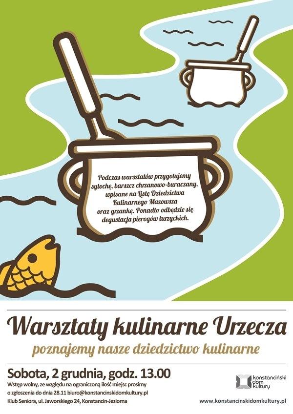 Kulinarne warsztaty Urzecza