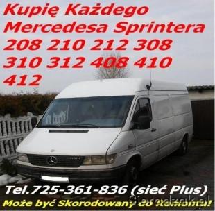 KUPIE MERCEDESA SPRINTERA tel. 725 361 836