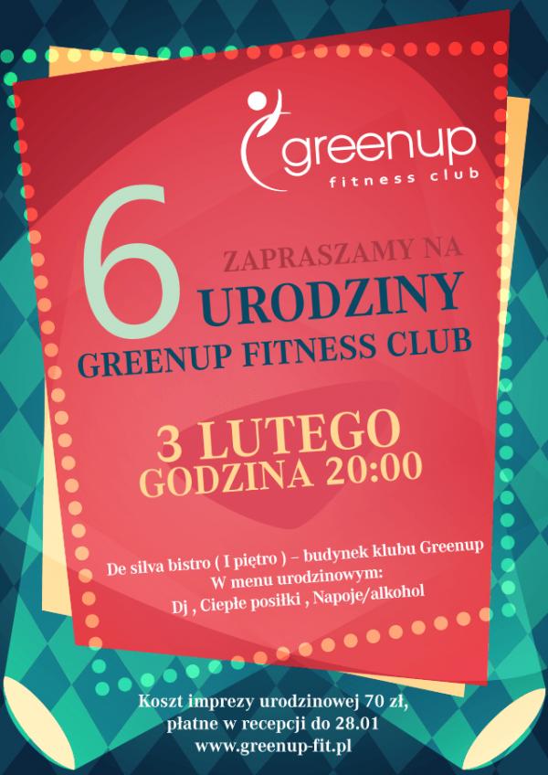 6 urodziny GreenUp Fitness Club