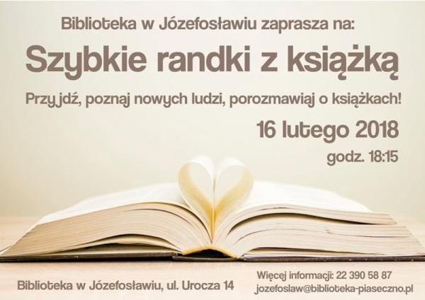 Szybkie randki… z książką!