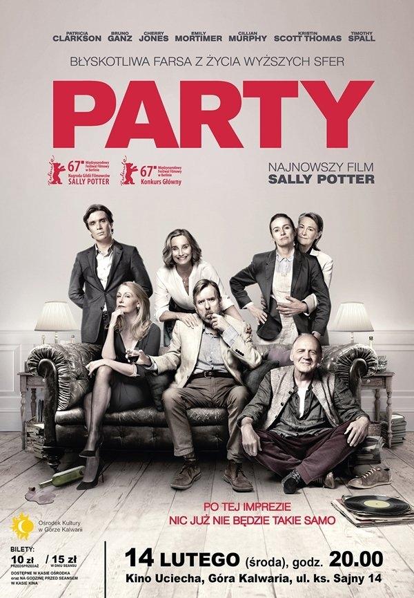 Pokaz filmu Party w Górze Kalwarii