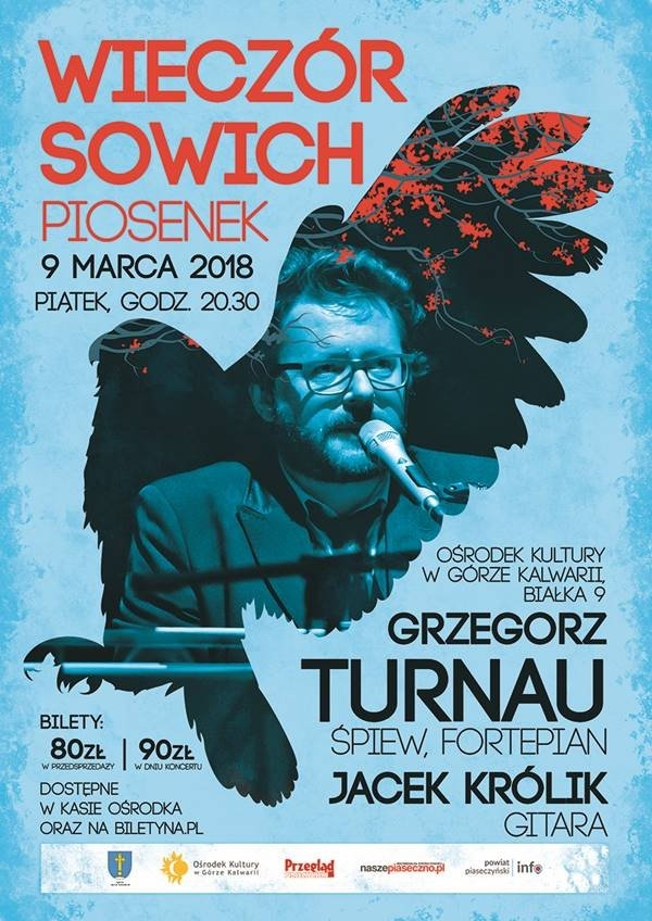 WIECZÓR SOWICH PIOSENEK - Grzegorz Turnau