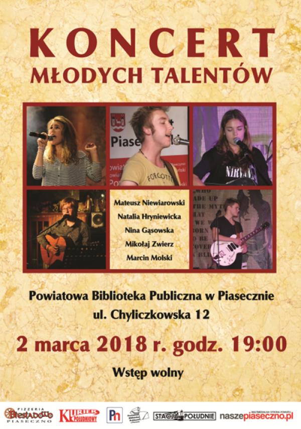 Koncert młodych talentów