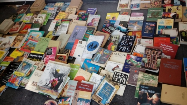 Akcja wymiany książek w Piasecznie