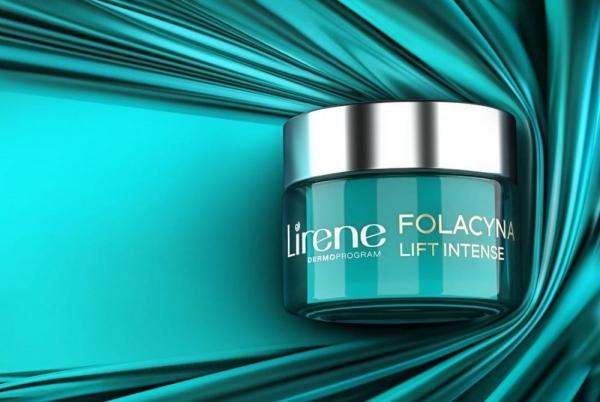 Podwójna odmładzająca moc kwasu foliowego i śnieżnej algi w nowych kremach Lirene Folacyna Lift Intense