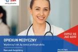Opiekun medyczny - darmowy, 1-roczny kierunek; Szkoły Żak w Piasecznie