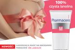 Łagodząca maść na brodawki piersiowe w okresie ciąży i karmienia  100% Lanolin Pharmaceris M – ulga dla piersi