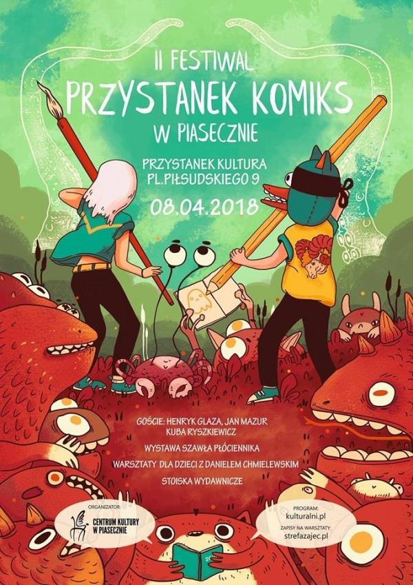 II Festiwal Przystanek Komiks w Piasecznie