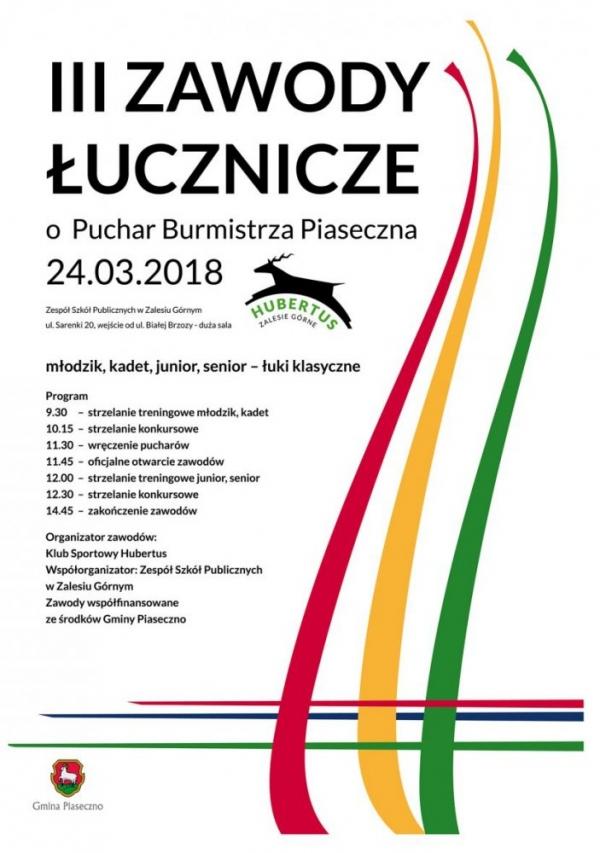 III Zawody Łucznicze o Puchar Burmistrza Piaseczna