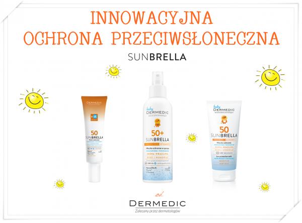Ochrona skóry przed pełnym widmem światła słonecznego UVB + UVA + VL+ IR w preparatach Sunbrella
