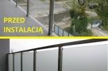 Folie na balkon i przeszklenia wewnętrzne - folie ozdobne i dekoracyjne