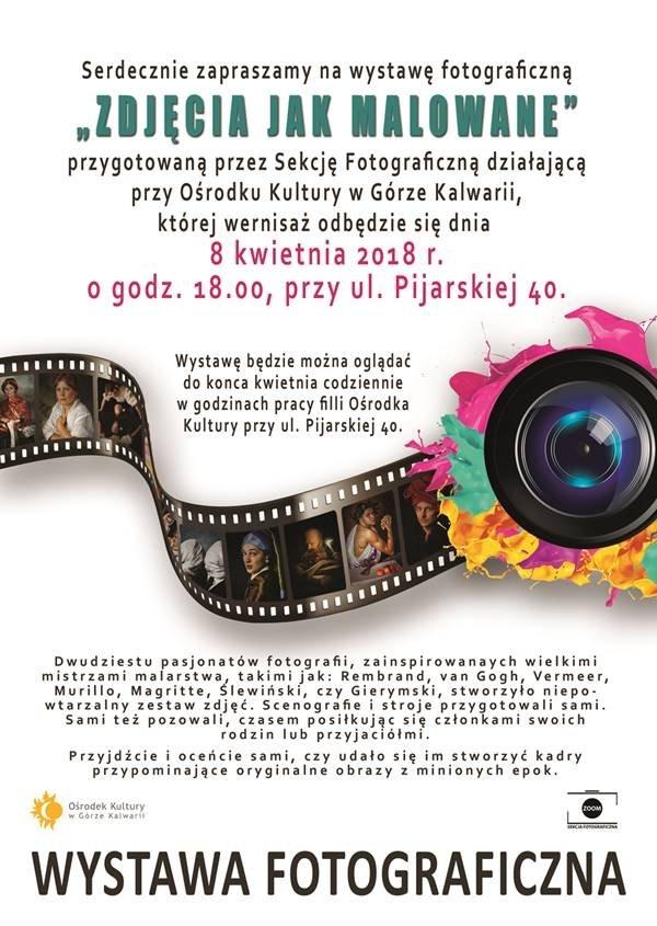 """""""Zdjęcia jak malowane"""" – wystawa fotografii"""