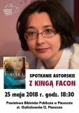 Spotkanie autorskie z Kingą Facon
