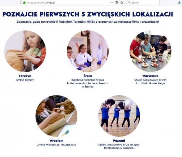 Gmina Tarczyn wygrywa Podwórko NIVEA 2018