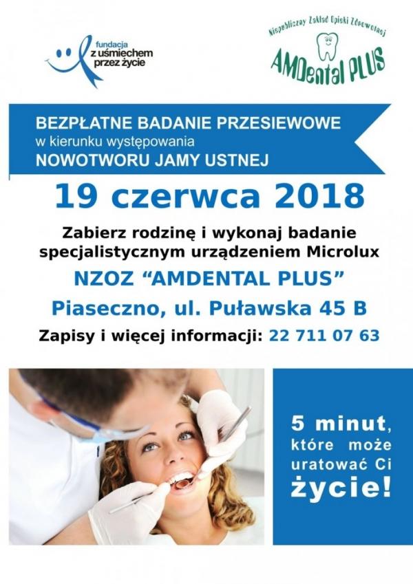 Bezpłatne badania profilaktyczne w Piasecznie