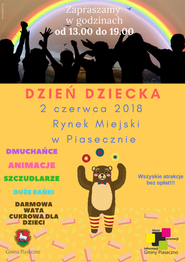 Gminny Dzień Dziecka w Piasecznie
