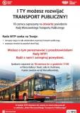 I ty możesz rozwijać transport publiczny