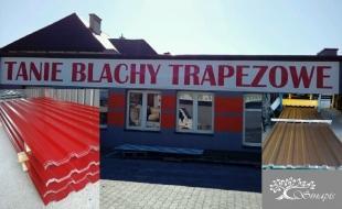 Blachy Trapezowe- Blachodachówki- Ceramika