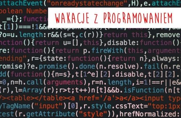 Wakacje z programowaniem