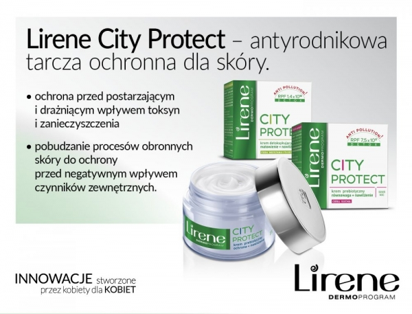 Lirene City Protect – antyrodnikowa tarcza ochronna dla skóry