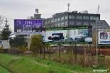 reklama   w Piasecznie na  włąsność  w idealnym miejscu przy drodze