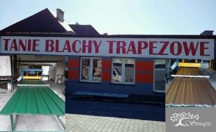 Blachy Trapezowe - Blachodachówki - Ceramika