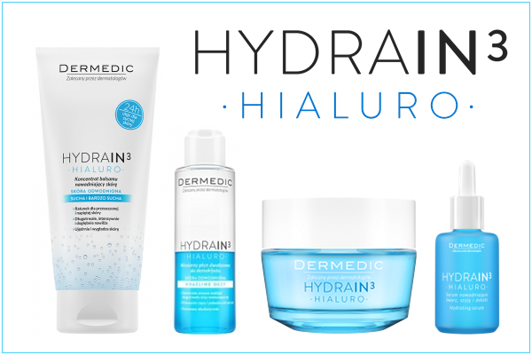 HYDRAIN3 - kompletna linia nawadniająca od Dermedic