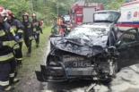 Po wypadku 35- latek trafił do policyjnej celi