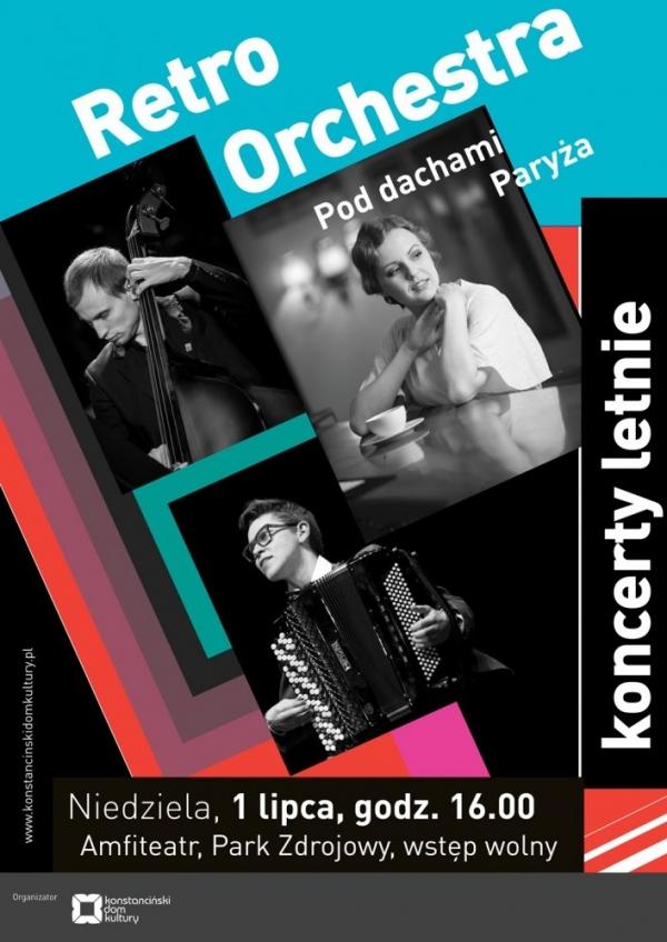 Koncert Letni – Retro Orchestra
