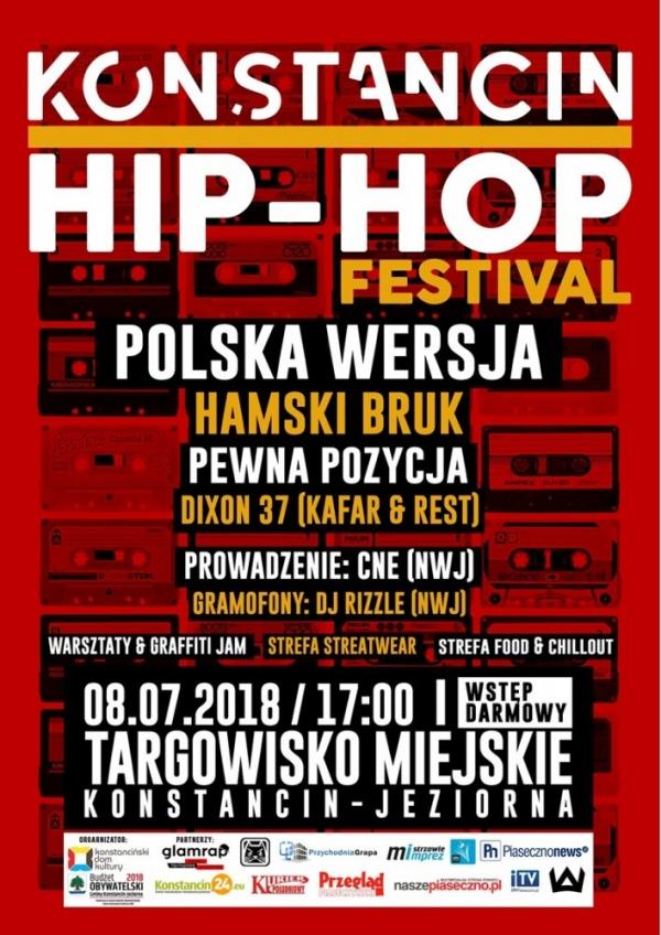 Konstancin Hip-Hop Festiwal 2018