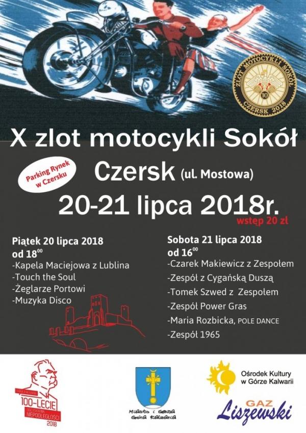 X Zlot Motocykli Sokół